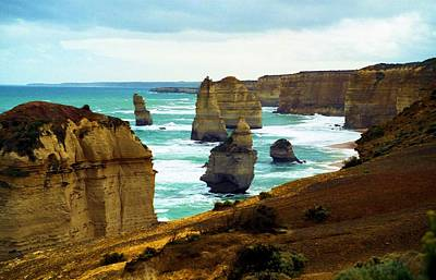 Poster featuring the photograph The Twelve Apostles - Lost Apostle by Dennis Lundell
