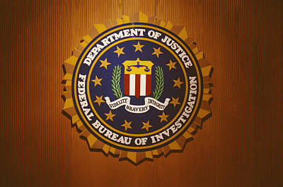 The United States Department Of Justice Poster