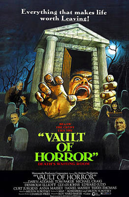 The Vault Of Horror, Center Right Anna Poster by Everett