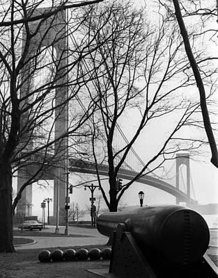 The Verrazano-narrows Bridge, New York Poster by Everett