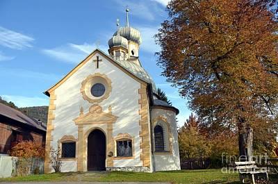 The Virgin Mary Church In Austria  Poster