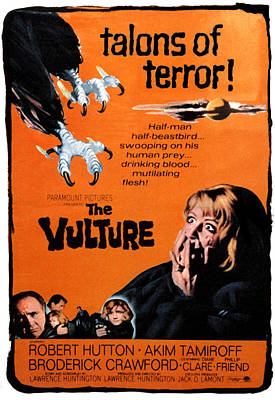 The Vulture, Diane Clare Right, 1967 Poster by Everett
