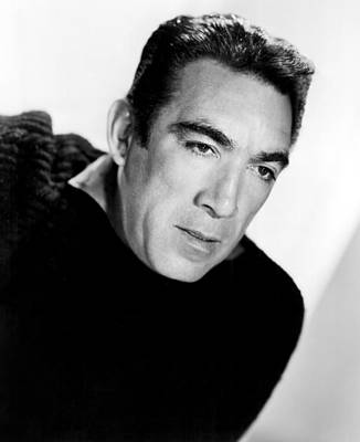 The Wild Party, Anthony Quinn, 1956 Poster by Everett