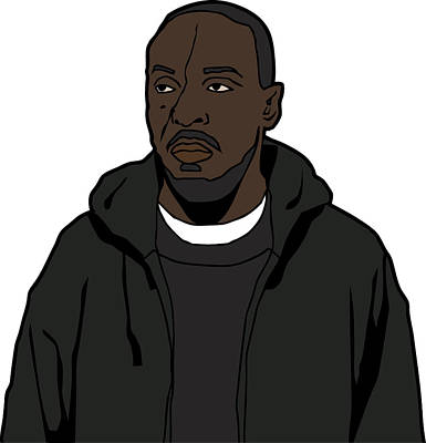 The Wire's Omar Little Poster