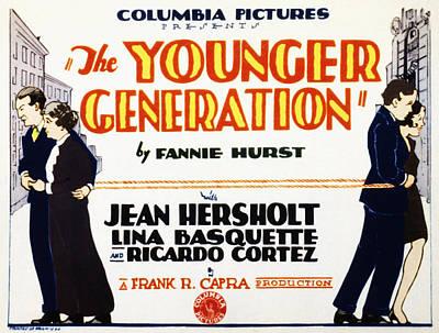 The Younger Generation, Jean Hersholt Poster