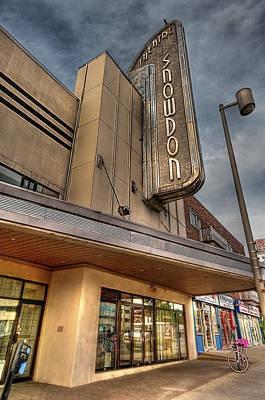 Theatre Snowdon Poster by Elisabeth Van Eyken
