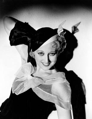Thelma Todd, Hal Roach Studios, 1933 Poster by Everett