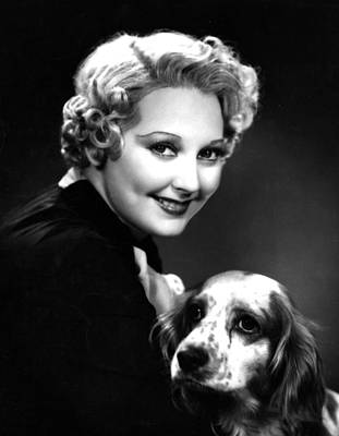 Thelma Todd, Portrait Ca. 1935 Poster by Everett