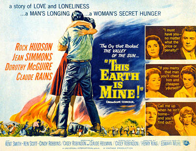 This Earth Is Mine, Dorothy Mcguire Poster by Everett