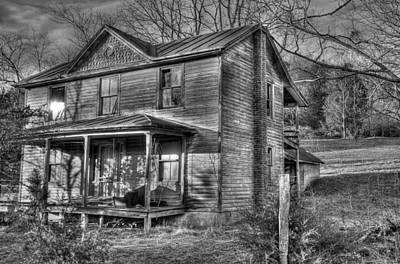 This Old House Poster by Todd Hostetter