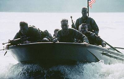 This Photograph Of Six Armed Us Poster by Everett