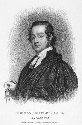 Thomas Raffles (1788-1863) Poster by Granger