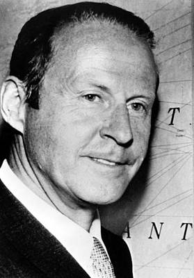 Thor Heyerdahl, Image Dated 072569 Poster by Everett