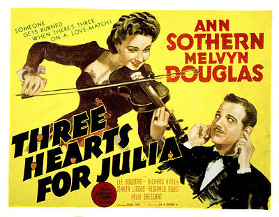 Three Hearts For Julia, Ann Sothern Poster by Everett
