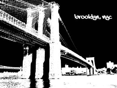 till Brooklyn Poster by Deso Nellski