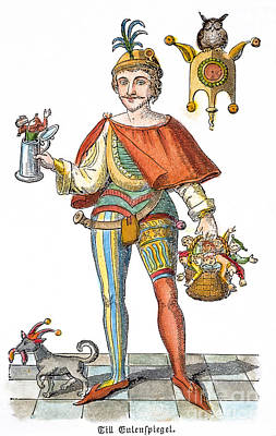 Till Eulenspiegel (d. 1350) Poster