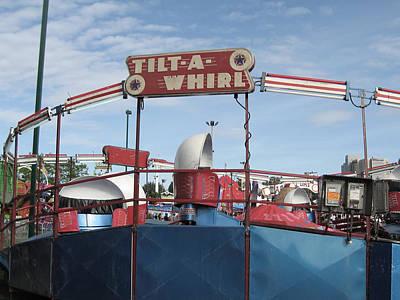 Tilt A Whirl Ride Poster