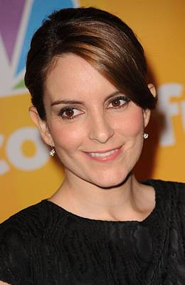 Tina Fey In Attendance For Nbc Poster by Everett