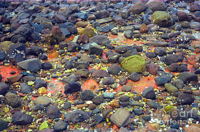 Poster featuring the photograph Tinopoi Beach Rocks by Mark Dodd