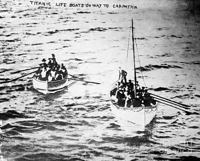 Titanic: Lifeboats, 1912 Poster
