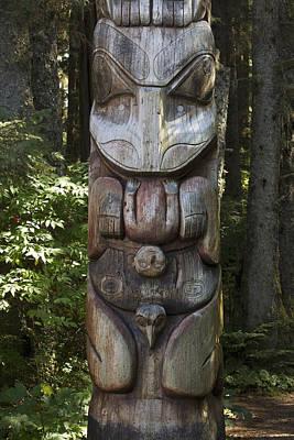 Tlingit Totem Pole, Sitka National Poster by Matthias Breiter