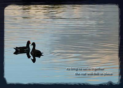 Together Poster by Steven Sparks