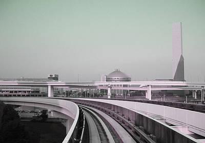 Tokyo Train Ride 2 Poster by Naxart Studio