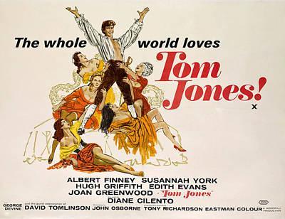 Tom Jones, Albert Finney, 1963 Poster