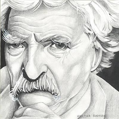 Tom Selleck As Mark Twain Poster