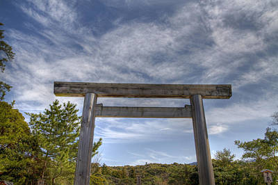 Poster featuring the photograph Torii by Tad Kanazaki