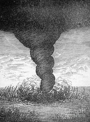 Tornado, 1881 Poster by Science Source