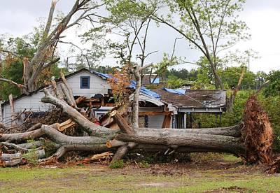 Tornado Aftermath In La Grange Georgia Poster
