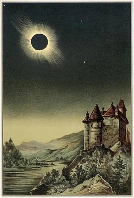 Total Solar Eclipse Of 1842 Poster