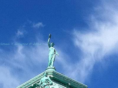 Touching Skies Poster by Sonali Gangane