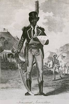 Toussaint Louverture 1843-1803 Leader Poster by Everett