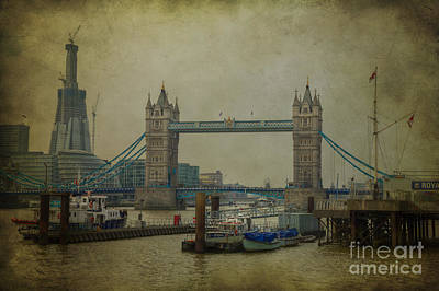 Poster featuring the photograph Tower Bridge. by Clare Bambers