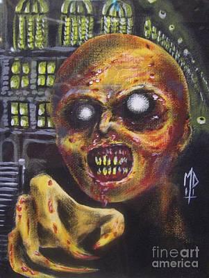 Town Mummy Poster by Matt Detmer