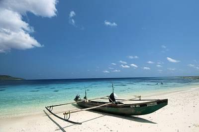 Traditional Fishing Boat, Timor -leste Poster