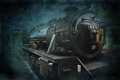 Train Poster by Svetlana Sewell