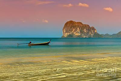 Trang Longboat Poster