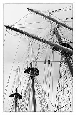 Trees On A Ship II Poster by Hideaki Sakurai