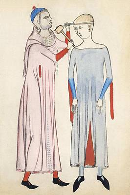 Trepanation, 14th Century Artwork Poster by Sheila Terry