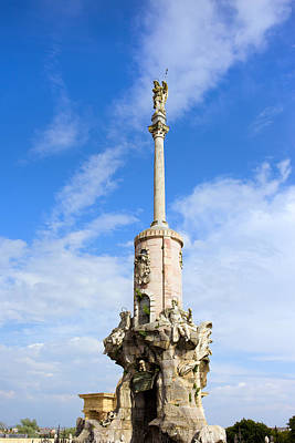 Triunfo De San Rafael Monument In Cordoba Poster