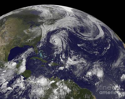 Tropical Cyclones Katia, Lee, Maria Poster