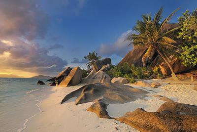 Tropical Island La Digue Poster