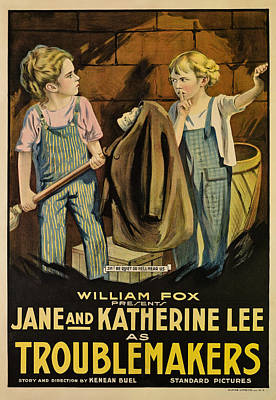 Troublemakers, Jane Lee, Katherine Lee Poster