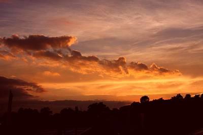 Trowbridge Sunset Poster