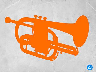 Tuba  Poster by Naxart Studio
