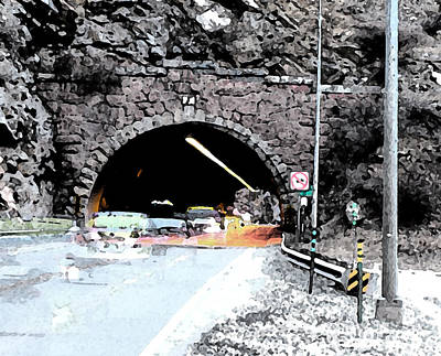 Tunnel 1 Clear Creek Canyon Poster by Bill Kennedy