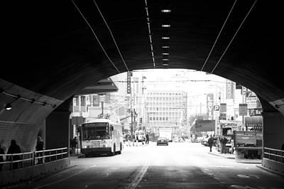 Tunnel Poster by Lloyd  Silverman